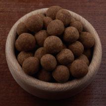 Lísková jádra sypaná skořicí v čokoládové polevě Bonnerex
