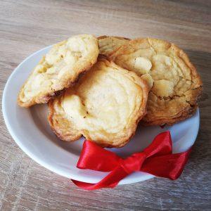 Sušenky s makadamovými ořechy