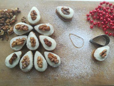 Ořechové slzičky s vlašskými ořechy
